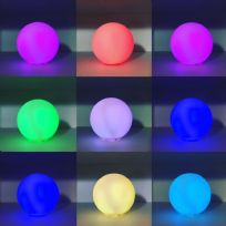 Colour Changing LED Light UP Ball Decorative Ornament